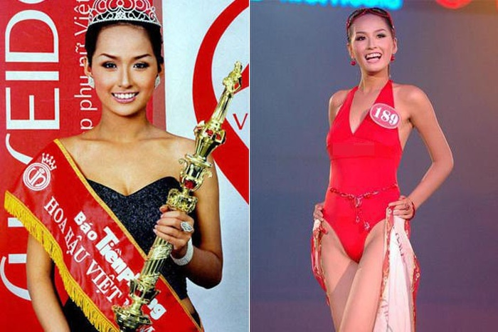 Nhan sắc hiện tại của những Hoa hậu Việt bị chê xấu khi đăng quang, kì lạ thay ngày càng đẹp Ảnh 1