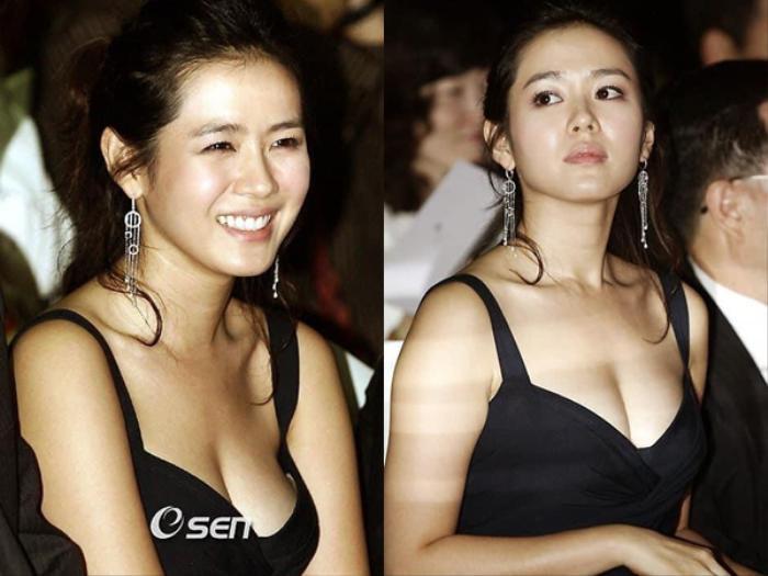 Son Ye Jin sở hữu vòng 1 vạn người mê nhưng liên tục phồng - xẹp khó hiểu Ảnh 2