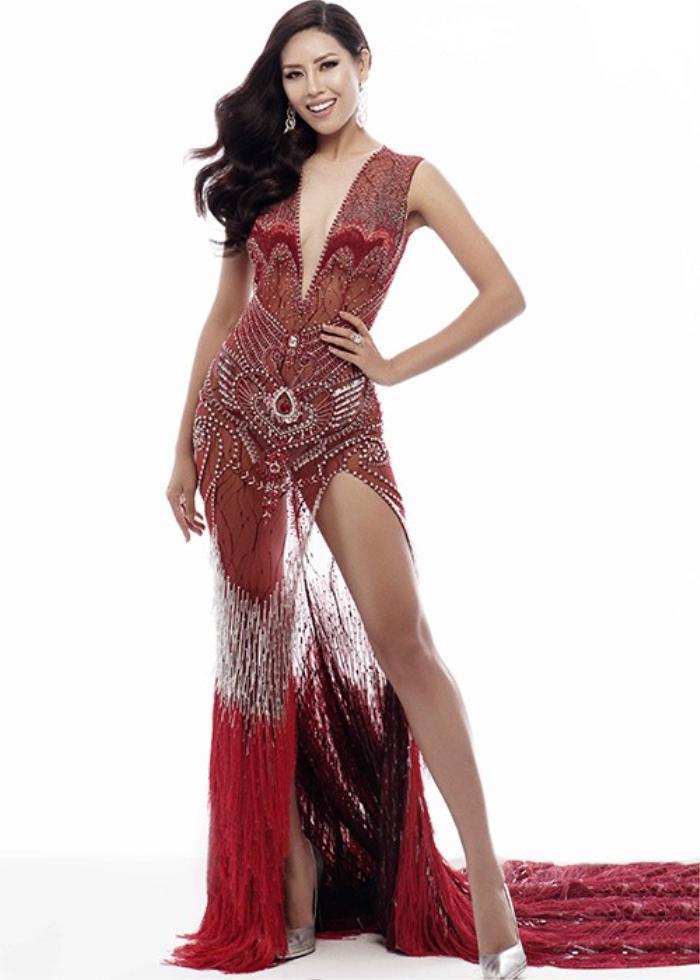 Tiểu Vy lập kỷ lục với đầm 40kg, Nguyễn Thị Loan lại vỡ kế hoạch vì váy khủng Ảnh 14
