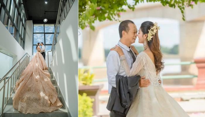 Cụ ông 70 tuổi cưới vợ đáng tuổi cháu, nhan sắc của cô dâu khiến nhiều người kinh ngạc Ảnh 2