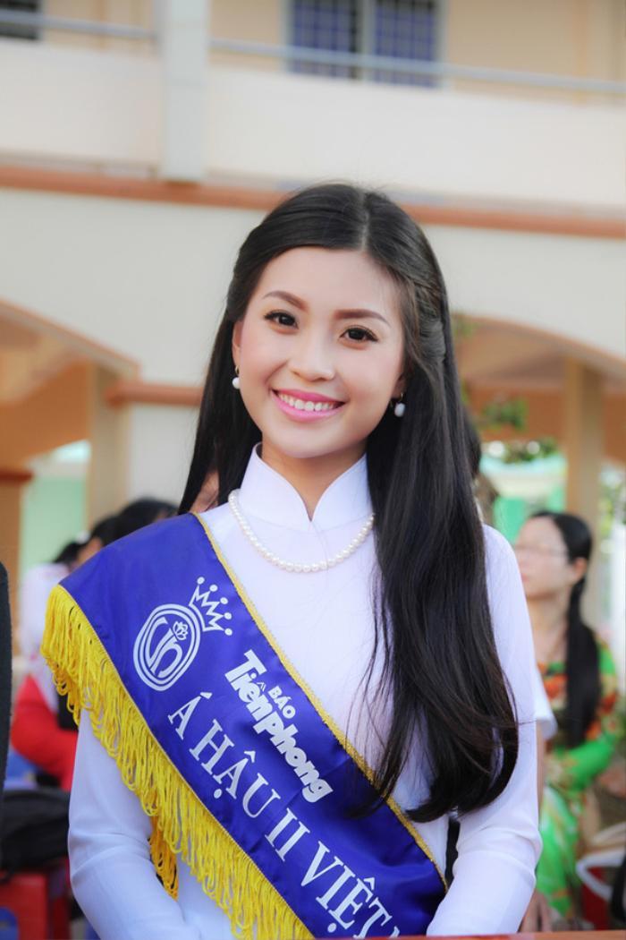 Á hậu Việt Nam kết hôn trong nhiệm kỳ như Tường San: Thúy Vân - Diễm Trang - Trà My hạnh phúc viên mãn Ảnh 6