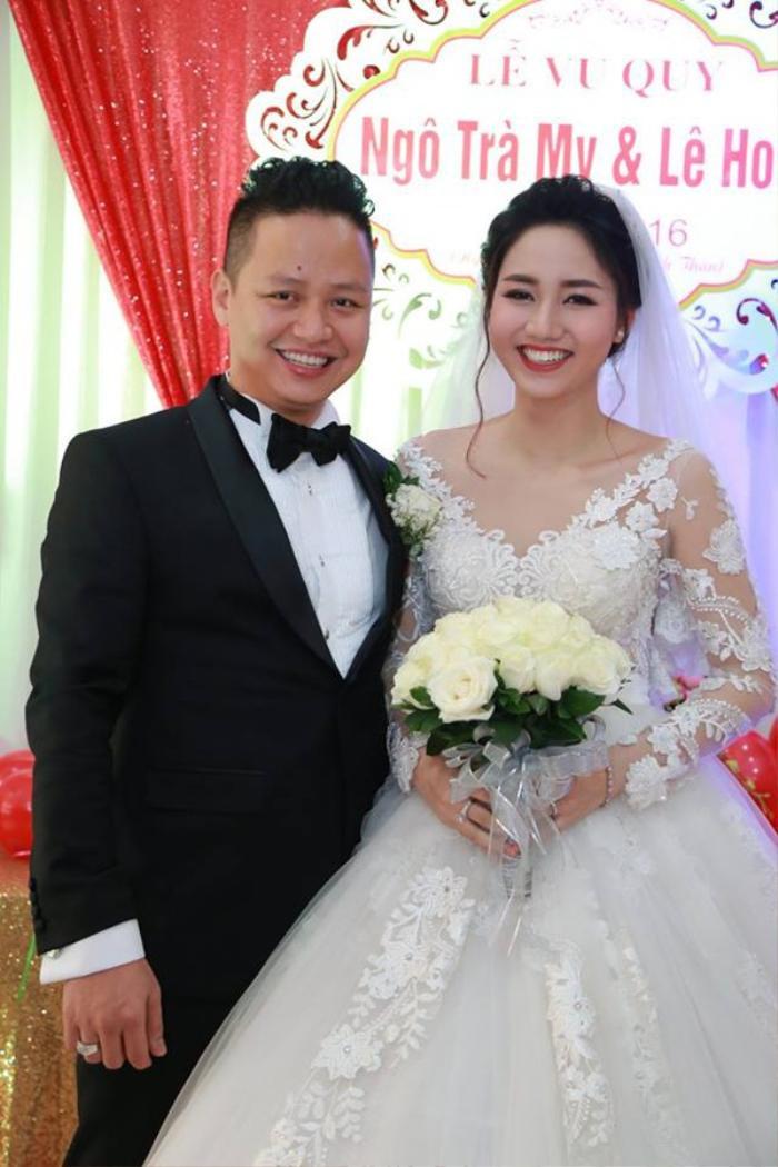 Á hậu Việt Nam kết hôn trong nhiệm kỳ như Tường San: Thúy Vân - Diễm Trang - Trà My hạnh phúc viên mãn Ảnh 12