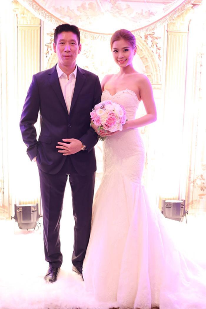 Á hậu Việt Nam kết hôn trong nhiệm kỳ như Tường San: Thúy Vân - Diễm Trang - Trà My hạnh phúc viên mãn Ảnh 7