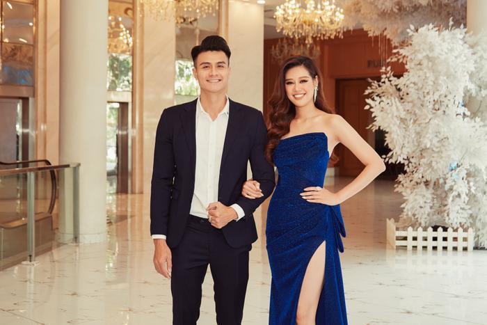 Soi khung hình 'cực phẩm' của Vĩnh Thụy và Hoa hậu Khánh Vân: Chàng lịch lãm, nàng gợi cảm 'hết nấc' Ảnh 7