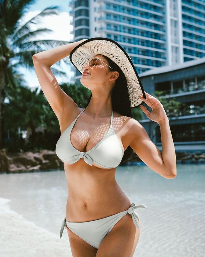 Số đo khác biệt một trời một vực của Miss Universe: Người lép kẹp - người chạm ngưỡng 1m
