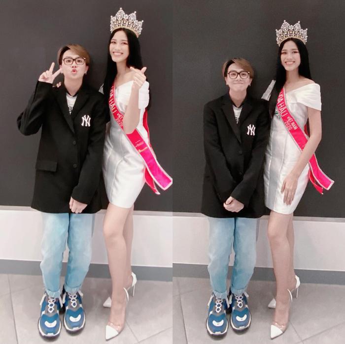 Duy Khánh lên tiếng khi bị cho rằng chỉnh ảnh 'lố' tay 'dìm' nhan sắc Hoa hậu Đỗ Thị Hà Ảnh 1
