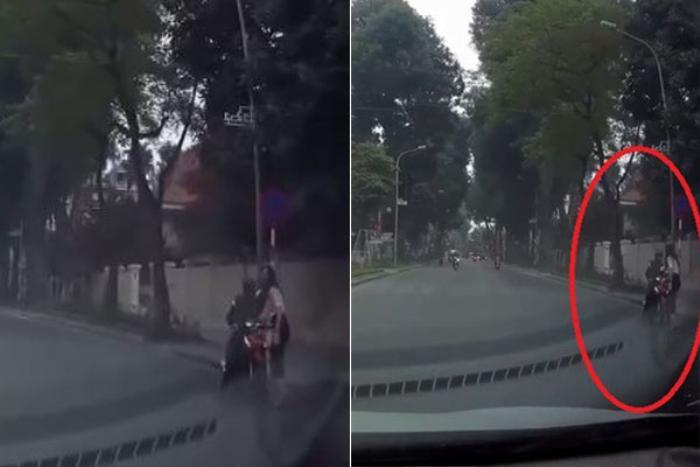 Clip: Nữ tài xế dừng xe ngay ngã tư đường, hành động sau đó của chị được CĐM vỗ tay rần rần Ảnh 2