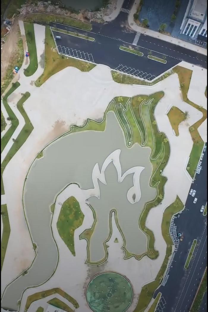 Địa điểm hình rồng khổng lồ tại Việt Nam nhìn rõ từ trên cao qua Google Maps gây sốt MXH Ảnh 3