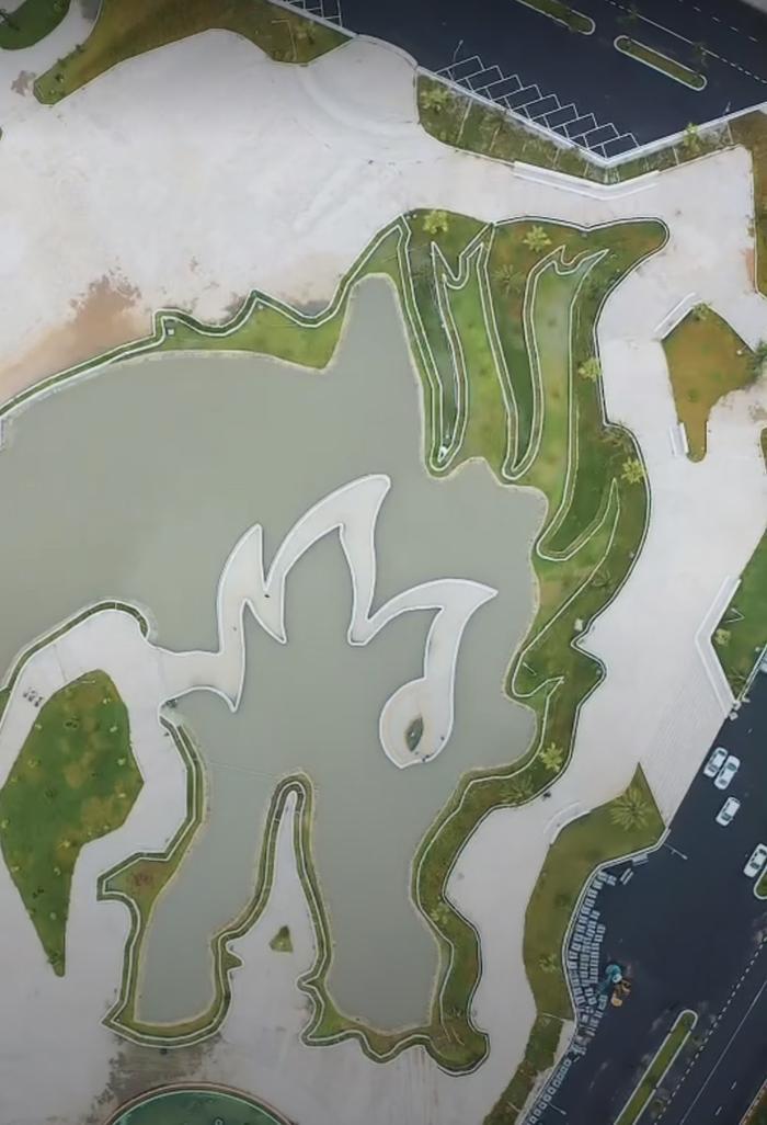 Địa điểm hình rồng khổng lồ tại Việt Nam nhìn rõ từ trên cao qua Google Maps gây sốt MXH Ảnh 4