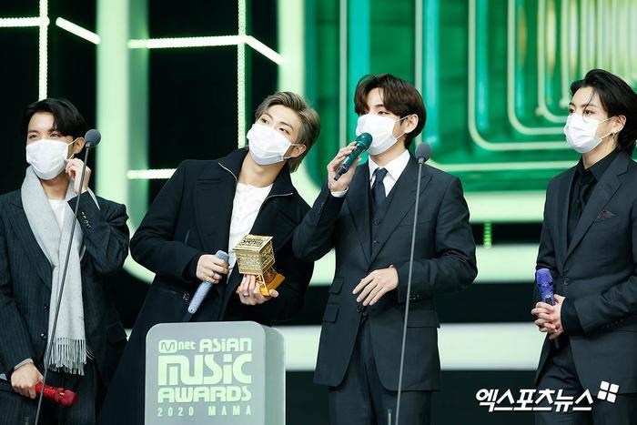 Tổng kết 'MAMA 2020': 3 sao Việt thắng giải lớn, BTS 'ẵm mỏi tay' 8 chiếc cúp! Ảnh 3
