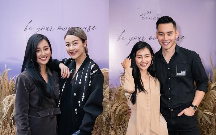 Siêu mẫu Trần Mạnh Khang, MC Phí Linh lên đồ thu đông sành điệu hội ngộ Quỳnh Chi Ảnh 1