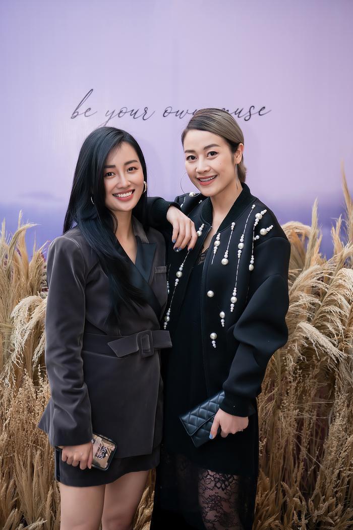 Siêu mẫu Trần Mạnh Khang, MC Phí Linh lên đồ thu đông sành điệu hội ngộ Quỳnh Chi Ảnh 3
