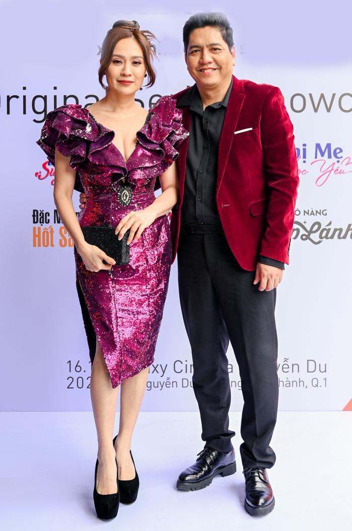 Đức Thịnh - Thanh Thuý cùng Nam Em - Lãnh Thanh dự họp báo ra mắt loạt dự án phim mới Ảnh 1