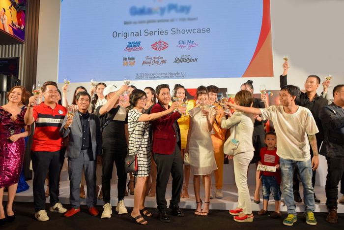 Đức Thịnh - Thanh Thuý cùng Nam Em - Lãnh Thanh dự họp báo ra mắt loạt dự án phim mới Ảnh 28