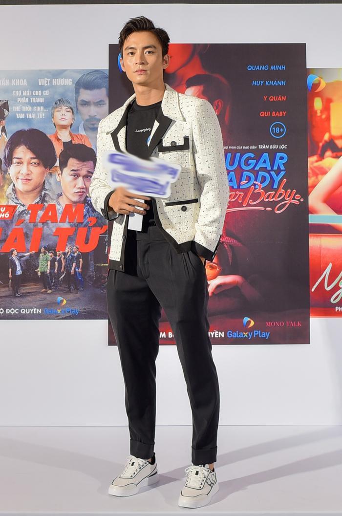 Đức Thịnh - Thanh Thuý cùng Nam Em - Lãnh Thanh dự họp báo ra mắt loạt dự án phim mới Ảnh 11