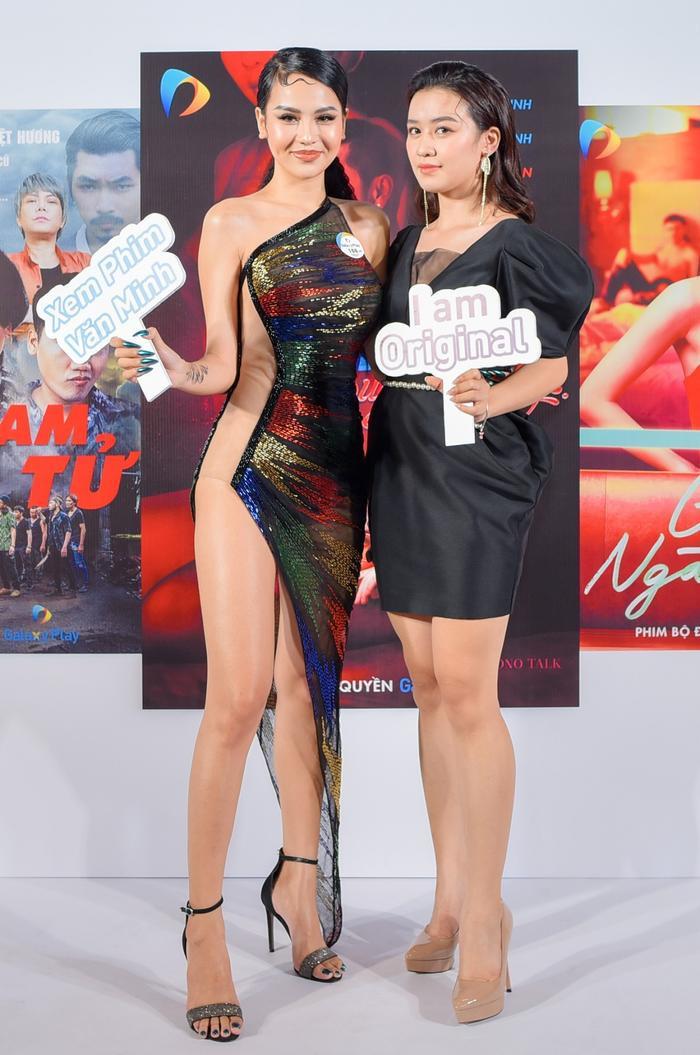 Đức Thịnh - Thanh Thuý cùng Nam Em - Lãnh Thanh dự họp báo ra mắt loạt dự án phim mới Ảnh 3