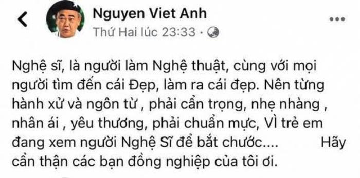 NSND Việt Anh hỏi thẳng NS Cát Phượng: 'Anh có sai với các em không?' Ảnh 2