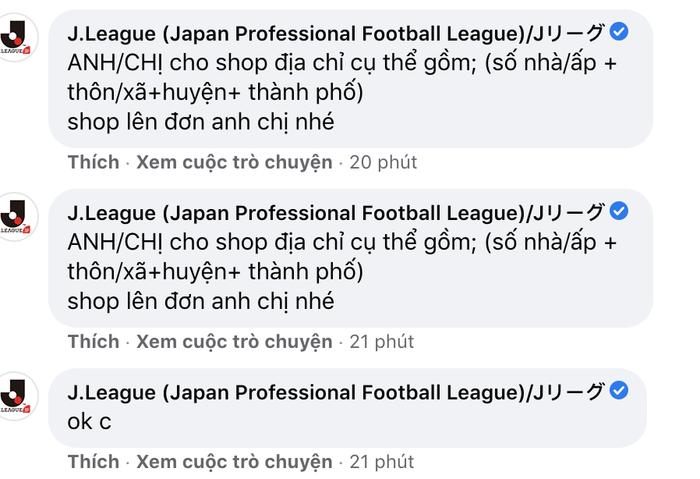 Fanpage giải bóng đá Nhật Bản bị hack để livestream video bán hàng của người Việt Ảnh 6
