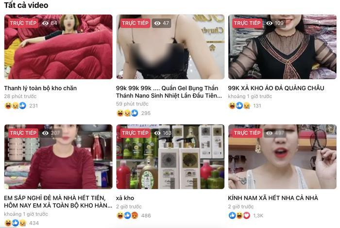Fanpage giải bóng đá Nhật Bản bị hack để livestream video bán hàng của người Việt Ảnh 2