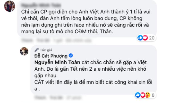 Khép lại ồn ào, Cát Phượng ủng hộ NSND Việt Anh tranh giải thưởng 'Ngôi Sao Xanh' Ảnh 2