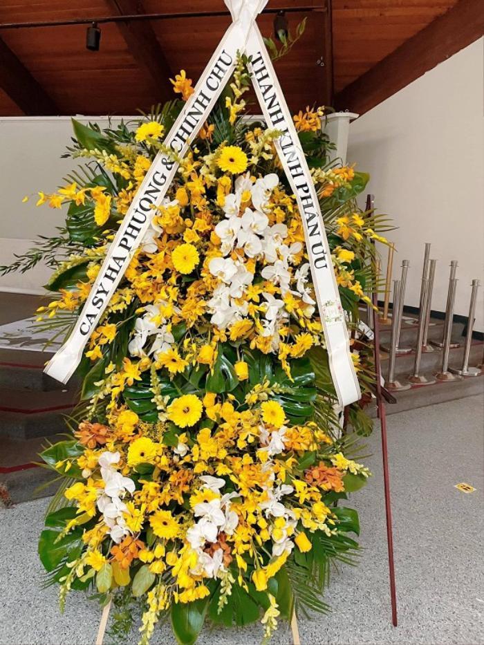 Em gái tỷ phú của Cẩm Ly viếng tặng 50 ngàn đô la cho đám tang cố NS Chí Tài Ảnh 7