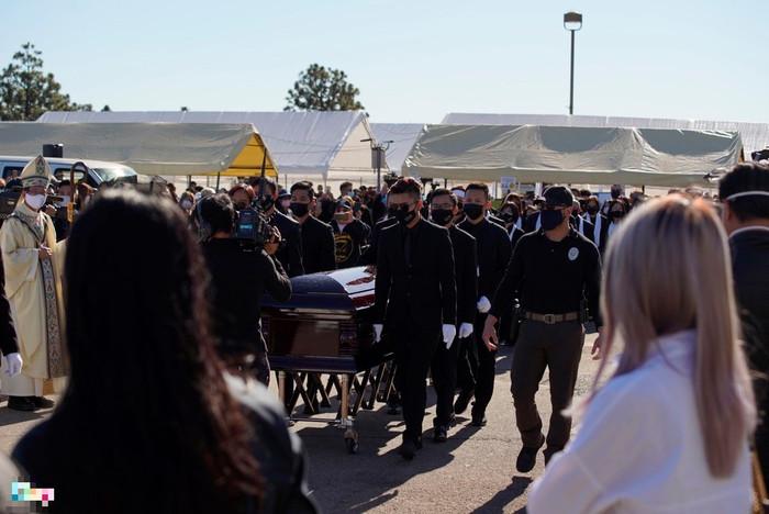 Em gái tỷ phú của Cẩm Ly viếng tặng 50 ngàn đô la cho đám tang cố NS Chí Tài Ảnh 1
