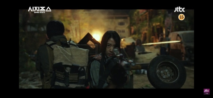 Phim 'Sisyphus: The Myth' tung teaser hoành tráng, Park Shin Hye 'ngầu lòi' chiến đấu như chiến binh Ảnh 12