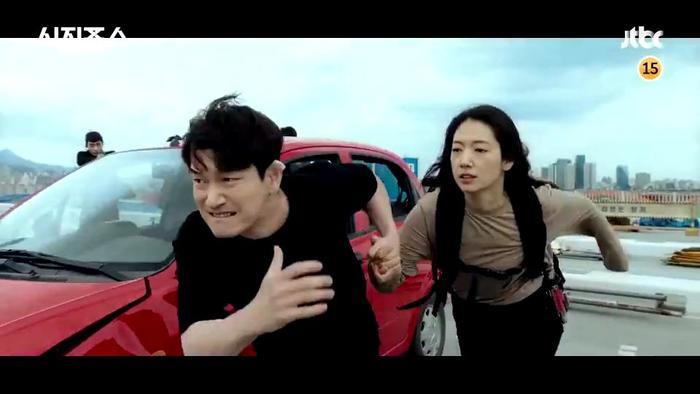 Phim 'Sisyphus: The Myth' tung teaser hoành tráng, Park Shin Hye 'ngầu lòi' chiến đấu như chiến binh Ảnh 8