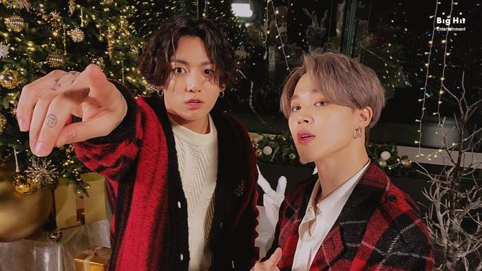 Jimin (BTS) tặng fan và gửi lời chúc Giáng sinh an lành Ảnh 3