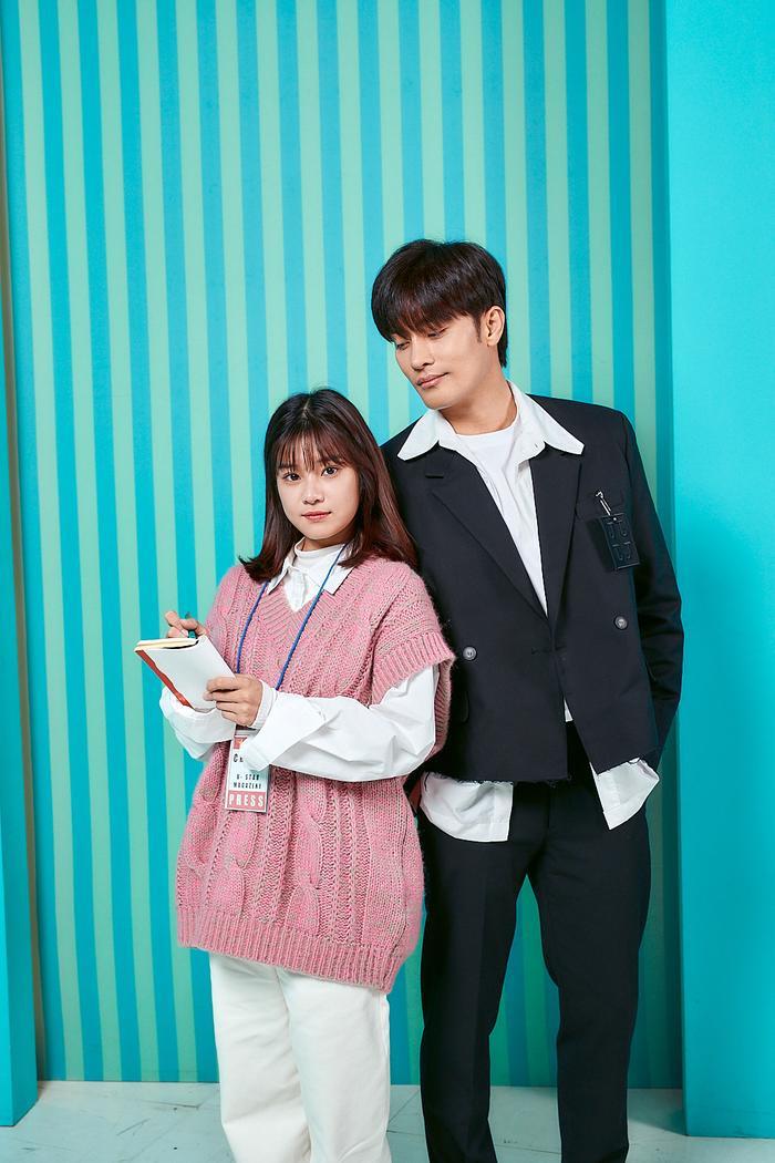Teaser 'Siêu sao mờ ám': Hoàng Yến Chibi hồn nhiên nựng má 'nam thần' Sung Hoon khiến fan ghen tị Ảnh 2