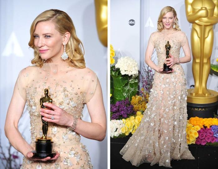 14 chiếc váy thảm đỏ huyền thoại đi vào lịch sử lễ trao giải Oscar Ảnh 11
