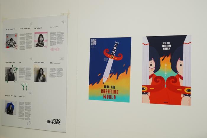 Chiêm ngưỡng những tác phẩm cực sáng tạo và độc đáo của sinh viên ngành Thiết kế Đồ họa Ảnh 2