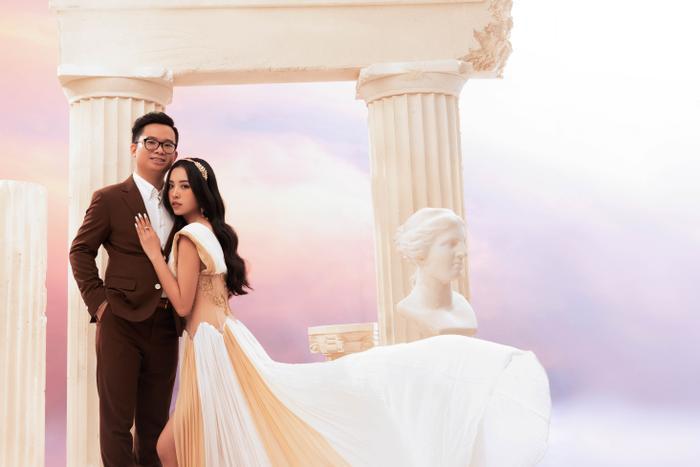 Á hậu Thúy An đẹp rạng ngời trong bộ ảnh cưới, e ấp hạnh phúc bên chồng tiến sĩ Ảnh 10