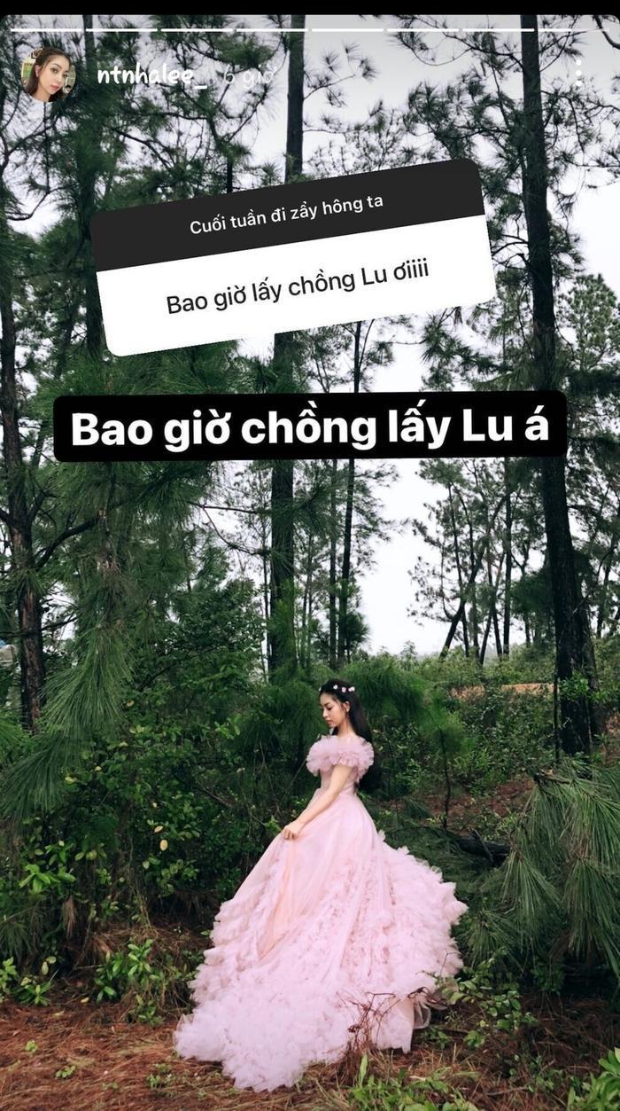 Chia tay Quang Hải, Nhật Lê công khai âu yếm tình mới