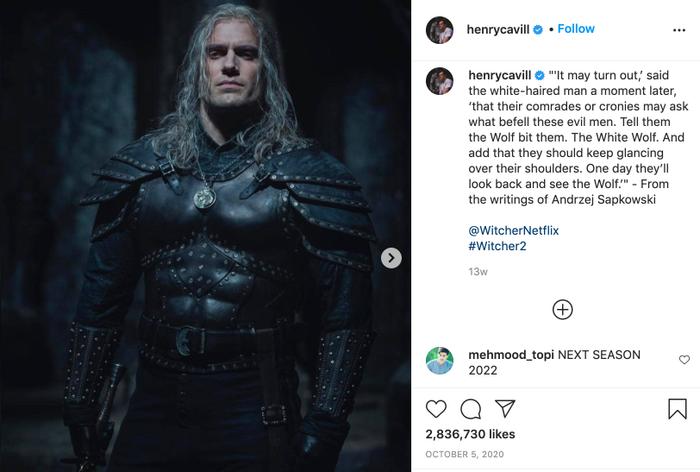 Henry Cavill dính chấn thương nặng nề ở chân trong lúc quay phim, 'The Witcher 2' tiếp tục bị hoãn ? Ảnh 11
