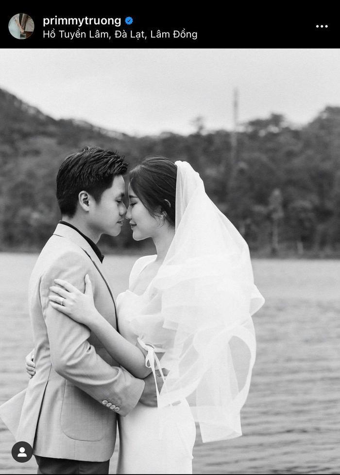Khách mời hé lộ thiệp cưới của Primmy Trương và Phan Thành, ngày vui đã cận kề mà chính chủ vẫn im lặng Ảnh 3