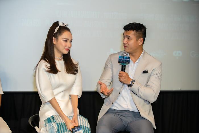 Họp báo 'Song Song': Nhã Phương ngọt ngào bên Trương Thế Vinh, Trường Giang có ghen tuông? Ảnh 18