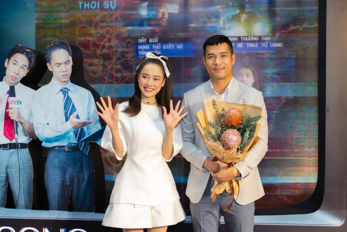 Họp báo 'Song Song': Nhã Phương ngọt ngào bên Trương Thế Vinh, Trường Giang có ghen tuông? Ảnh 15