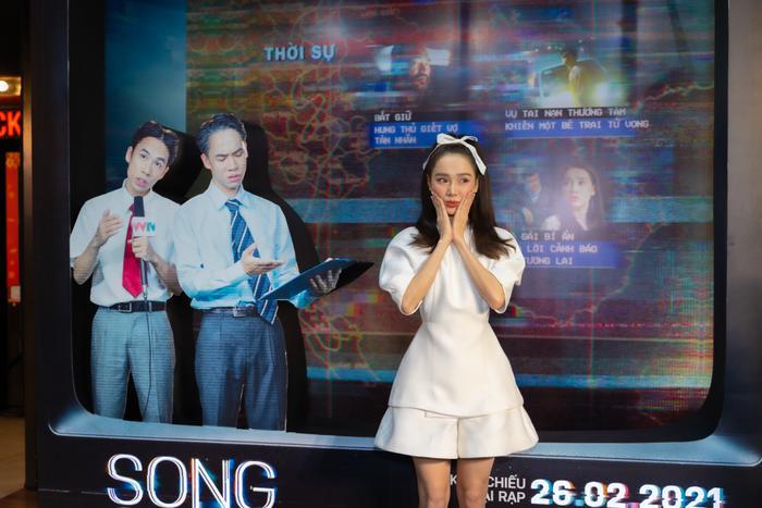 Họp báo 'Song Song': Nhã Phương ngọt ngào bên Trương Thế Vinh, Trường Giang có ghen tuông? Ảnh 21