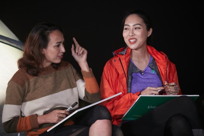 'Chị em song sinh' Tường Linh thế chỗ Hoàng Thùy, Ngọc Diễm tuyên bố: 'Không tham gia show thực tế nữa' Ảnh 10