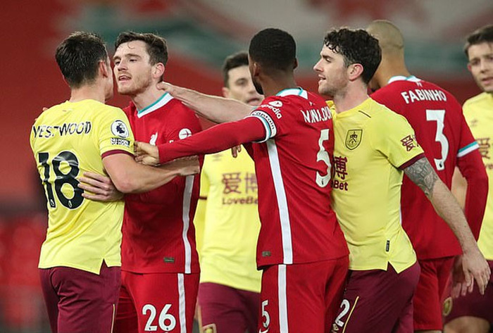 Liverpool thua đau Burnley, lún sâu vào khủng hoảng Ảnh 1
