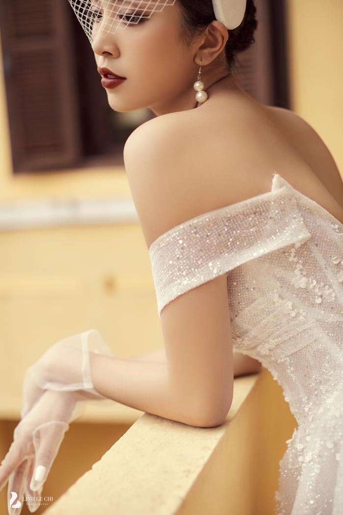 Á Hậu Thúy An hé lộ ảnh cưới lung linh tại Đà Lạt: Cô dâu nhan sắc rạng ngời, chú rể điển trai phong độ Ảnh 22