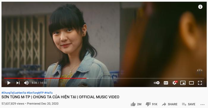 MV Chúng Ta Của Hiện Tại của Sơn Tùng M-TP đón thành tích không vui giữa ồn ào drama tình cảm Ảnh 2