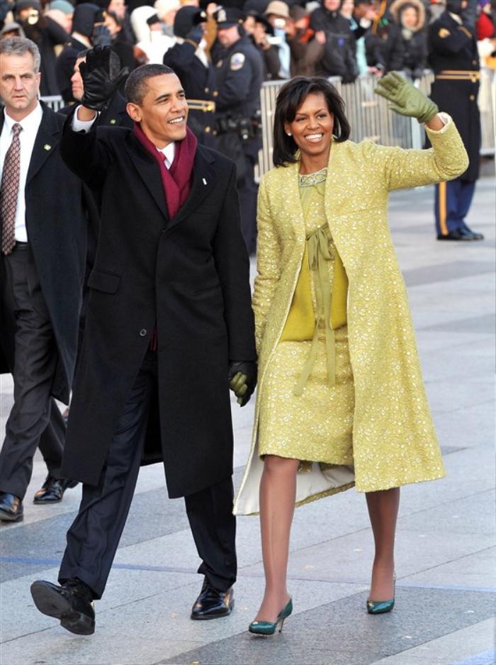 Thời trang thanh lịch của các Đệ nhất Phu nhân Mỹ trong lễ nhậm chức qua từng nhiệm kỳ Ảnh 9