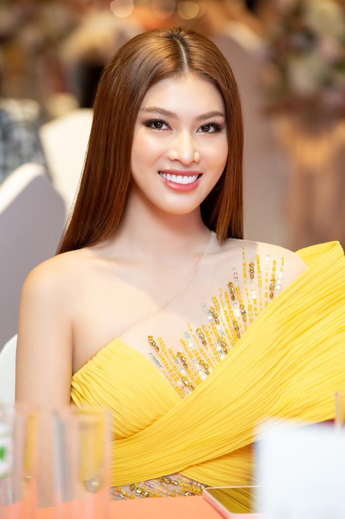 Miss Grand Vietnam 2021 Ngọc Thảo đẹp kiều diễm, catwalk với thần thái 'sắc lẹm' Ảnh 6
