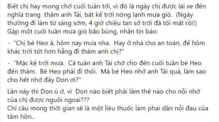 Don Hồ kể về ca sĩ Phương Loan: Đi làm nhớ anh Chí Tài, khóc đeo khẩu trang để không ai nhìn thấy Ảnh 3
