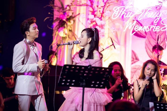 Thu Thủy tiết lộ kỷ niệm đặc biệt với Tăng Phúc trong đêm nhạc Thu Thuy's Memories Ảnh 1