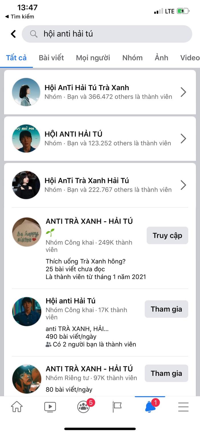 Group anti-fan Hải Tú 400K thành viên 'bay màu', loạt nhóm phụ mọc lên 'như nấm sau mưa' Ảnh 4