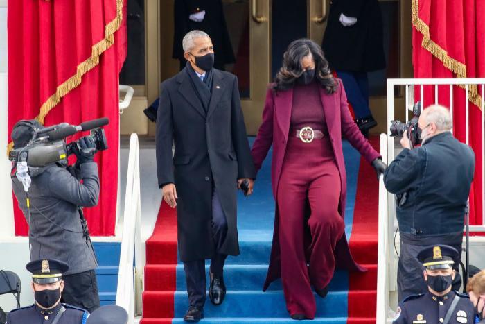 Cựu tổng thống Barack Obama không hiểu tại sao mọi người lại thích kiểu tóc của vợ Ảnh 1