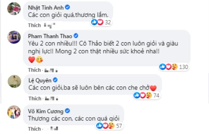 Vợ cũ Vân Quang Long gây xúc động khi đăng ảnh các con khoe thành tích học tập trước bàn thờ bố Ảnh 6